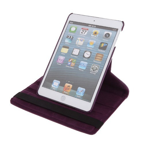 360 Rotating Smart Magnetic Leather Case Cover For iPad mini