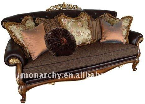 v127 canap ensemble 2011 de luxe en bois massif classique am ricain canap ensemble canap. Black Bedroom Furniture Sets. Home Design Ideas
