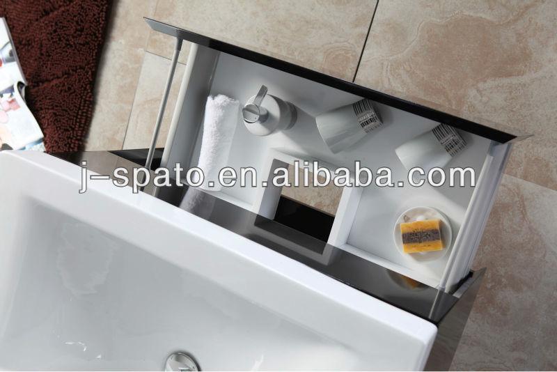 Europe Modern Double MDF Wall-Mounted Bathroom Vanity