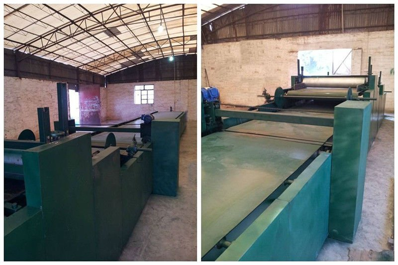 Anti-crack colorful stone coated metal roofing tiles for house building covering making machine