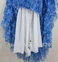 Вечернее платье 2013 Bohemia Floral printed princess Chiffon Maxi Evening Dresses A61