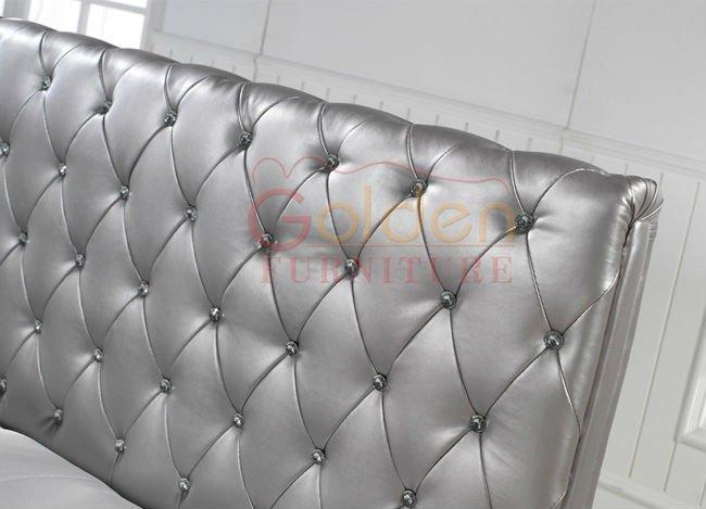 2015 luxe meubles de chambre à coucher en cuir Designs 2819B ...