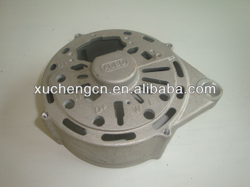 customized aluminum casting cylinder head cover