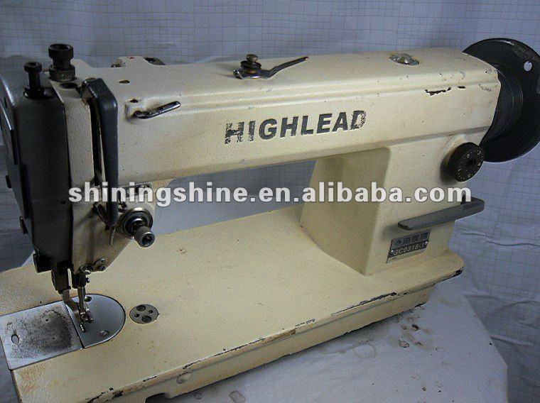 used industrial walking foot sewing machine
