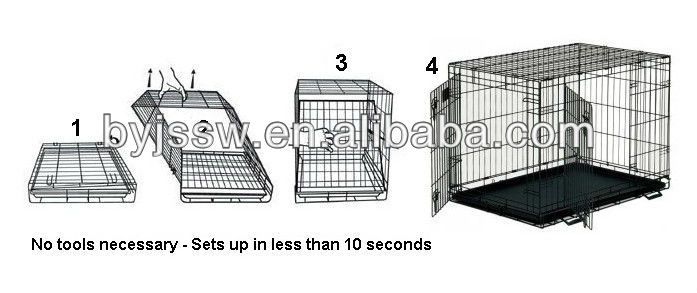 welded wire mesh dog kennel