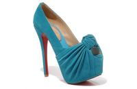 Туфли на высоком каблуке High Quality Colourful Platform High Hell Shoes Woman Open Toe Party Shoes
