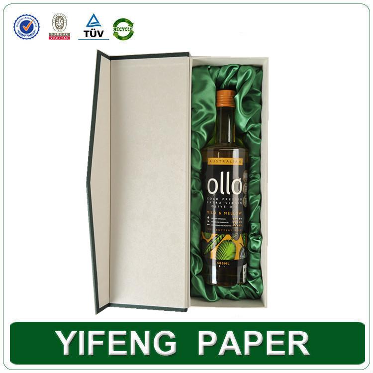 custom high quality cardboard olive oil box