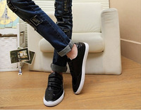 Мужские кроссовки New Casual Driving Shoe Sneakers Men's magic tape Cozy Breathable Artificial leather Shoes Price 1 pair