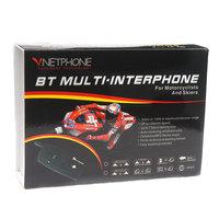 Гарнитура для шлема MP3&GPS, Intercom Headset Real Two-way Wireless Communication, Bluetooth 500m Motorcycle Helmet Intercom