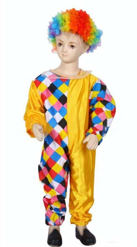 De los niños trajes de payaso para Halloween Cosplay-Suministros ...