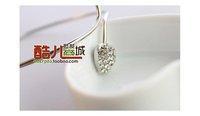 Min 12pcs/order mix stryle available,Elegant silver heart bracelet,5042.2840A. Free shipping