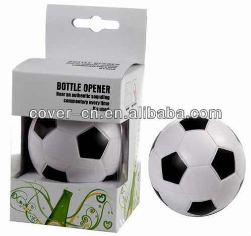 magnet sound beer football bottle opener for promotion. Black Bedroom Furniture Sets. Home Design Ideas