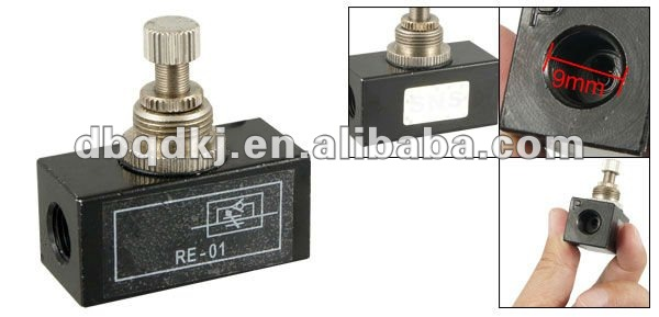 Flow control Valve RE Series, Pneumatic Valve