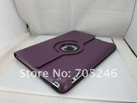 магнитные смарт крышку Тисненый кожаный чехол для ipad 2 и новый ipad ipad3 с 360 градусов вращающийся стенд