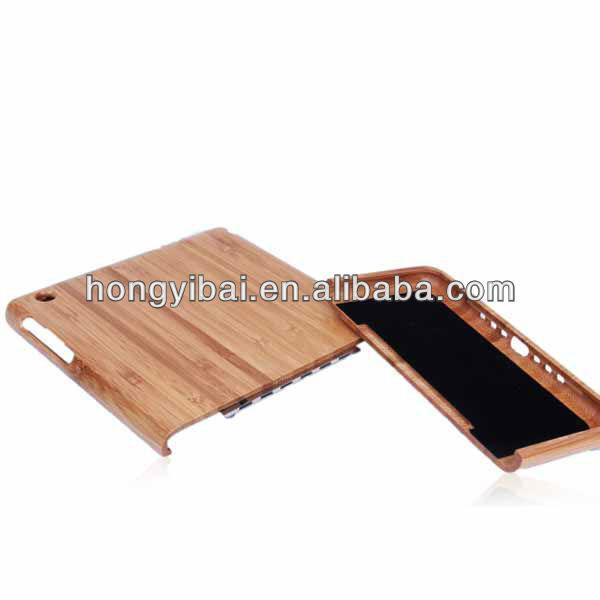 For ipad mini wood case