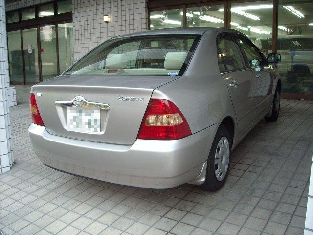 Toyota Corolla Interior 2002 2002 Toyota Corolla Sedan 1 5