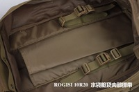 Рюкзак Brand: Rogisi Model Number:10R20 Cordura Military Camping Medical Tool Bag Color:Black/Brown Size:30*25*46CM 1.88KG