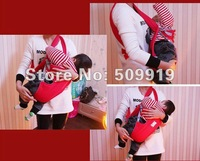 [CPA-Free]Wholesale-New Front & Back Baby Carrier Infant Backpack Sling Baby Sling 2-30 Months Red And Blue Color