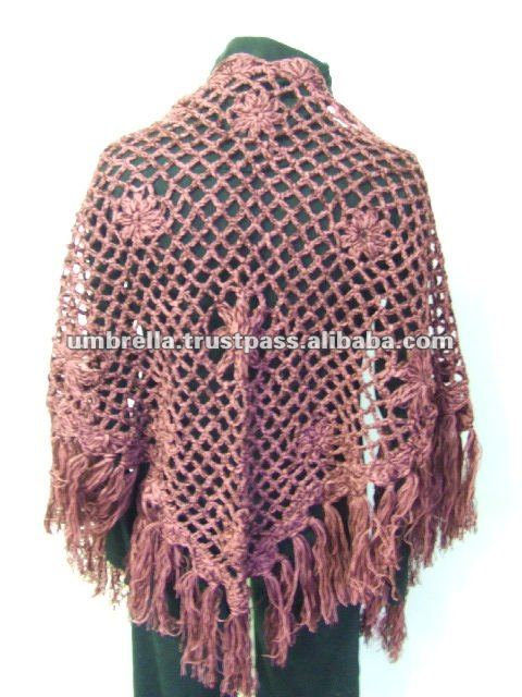 2012 ladies fashion Knitted Shawls