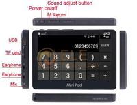 Планшетный ПК JXD S18 4,3/amlogic 8726/m3l 1 512MB 4 android 4.0