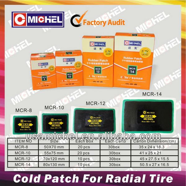 Remendo frio para pneu Radial