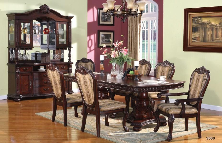 mirokey antiguos de madera juego de comedor muebles de comedor mesa de comedor