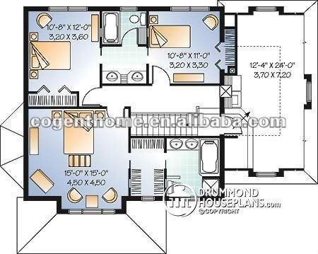 Plan De Maison De Luxe Moderne. Fabulous Vue D Building A Modern ...