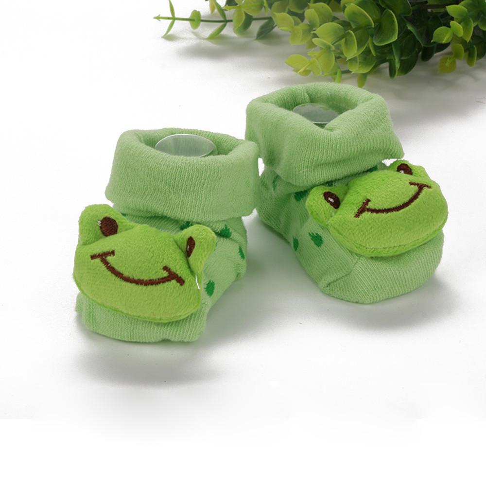 Kids Baby Unisex Newborn Animal Cartoon Socks Cotton Shoes Booties