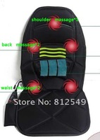 free shipping. 12V/220V heat and  massage cushion. back warm seat cushion. can be used in cars and at home.