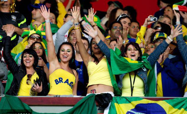 2014บราซิลworldcupของขวัญของขวัญฟุตบอลพัดลมรถfreshener