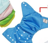 Nano baby waterproof cloth diapers colors randomly_Free Shipping