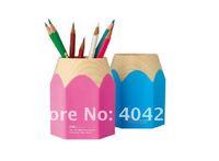 Подставка для ручек Deli brand, Plastic pen holder, pencil holder, pen container, pen case, 4.1' x 3' x 3.15