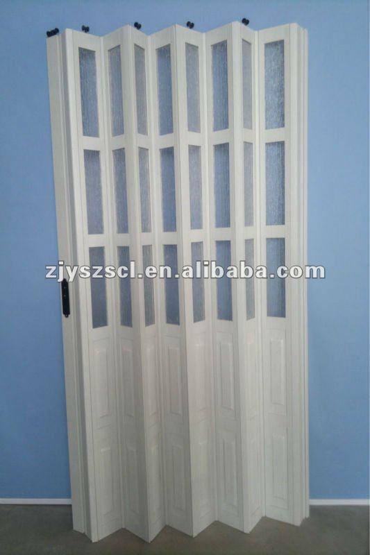 Tür zierblende  Kunststoff tür zierblende/Bad pvc-falttür-Tür-Produkt ID:346237385 ...