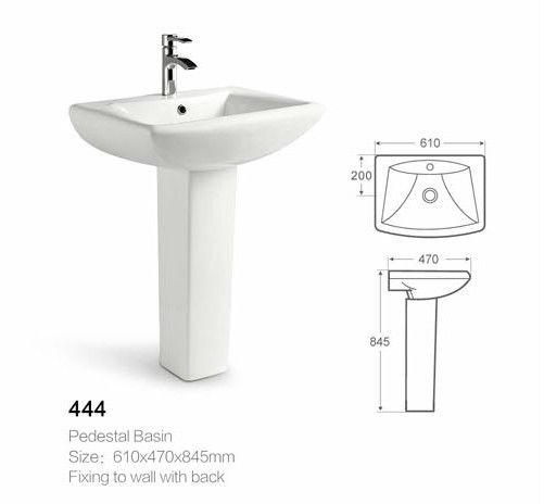 유럽 표준 광장 세라믹 세면대 큰 크기 DW444-욕실 싱크 -상품 ID ...
