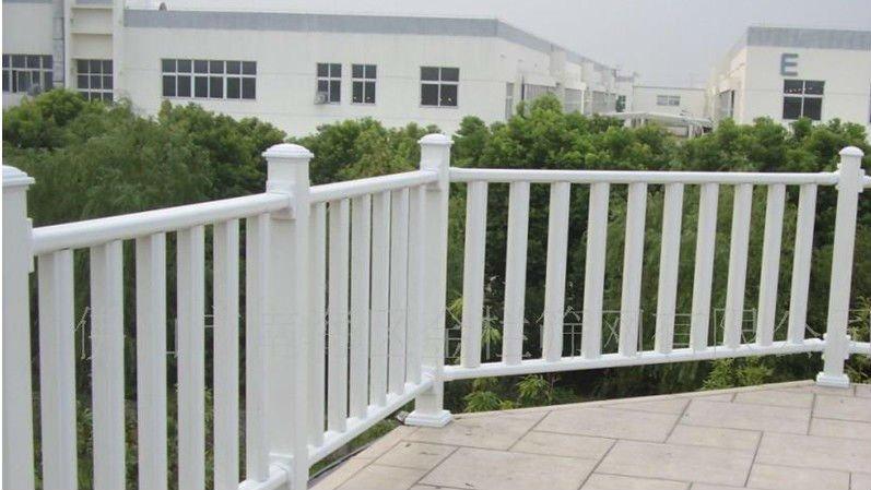 Pvc clôture de jardin balcon clôture véranda clôture pvc ...