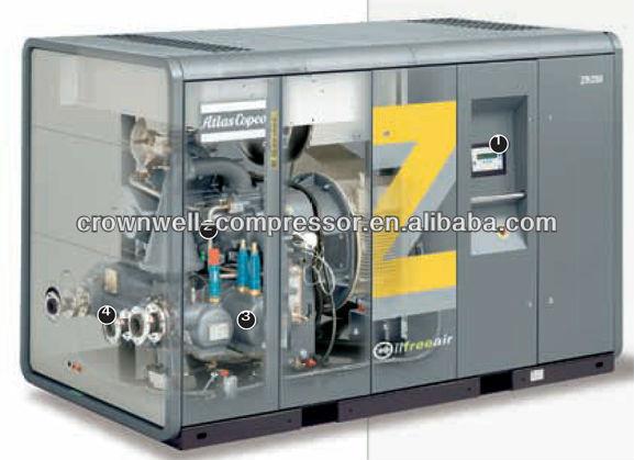 atlas copco oil free rotary screw air compressor model zt132vsd rh alibaba com Atlas Copco Oxygen Generator Atlas Copco Oxygen Generator