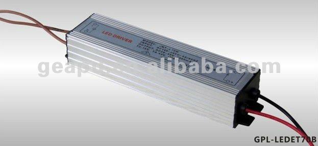 Led Constant Current Driver AC220V 2000ma/DC28-40V(50-70)W---GPL-LED-ET70B