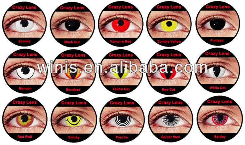 crazy lenses in eye