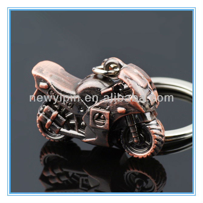 Simulation Motorcycle Model Keyrings