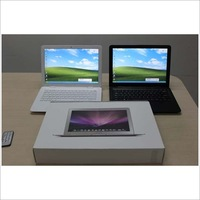 14.1 inch laptop,Intel D2800 1.87Ghz WiFi +Camara+DVD-RW,Windows 7 high quality cheapest price practial 4G 320GB HDD on sale