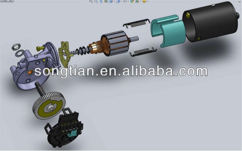 China High Performance Audi A3 A4 12v Auto Rear Wiper