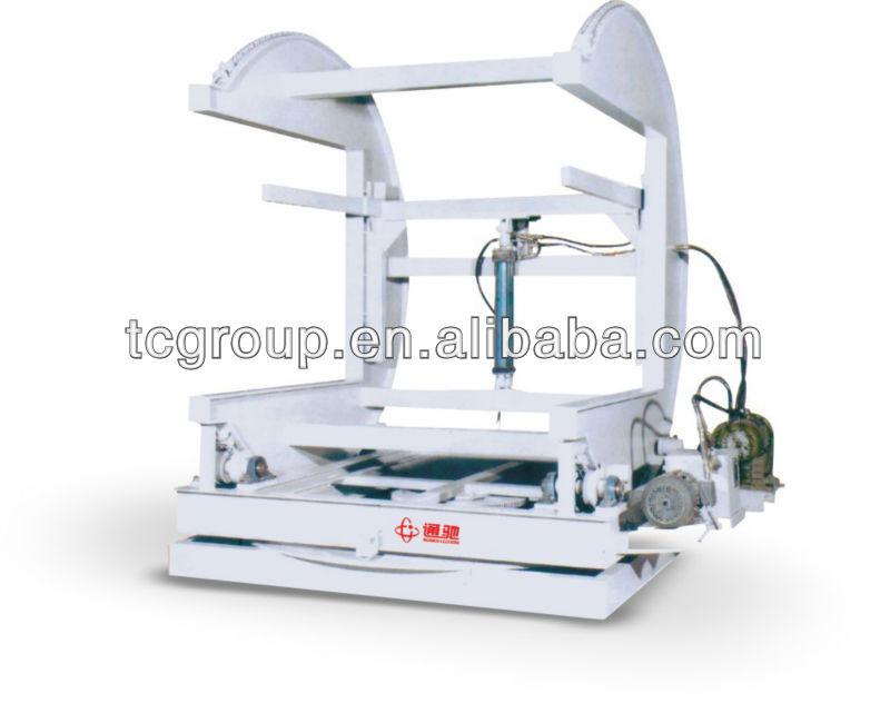 Turn-over woodworking machine