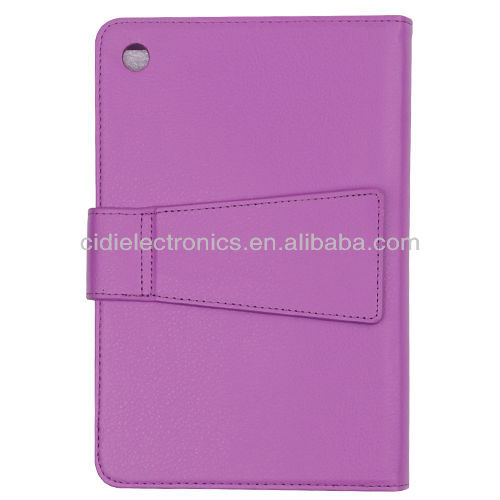 Hot sale For iPad mini Flip Leather Bluetooth Keyboard Cover Case
