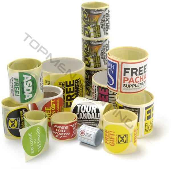 2012 OEM Printing Healthy Medicine Self Adhesive Label Roll