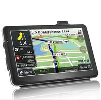 Специализированный магазин 7 INCH HD CAR GPS NAVIGATOR /NAVIGATION CPU MTK 800MHZ DDR128M ROM 4GB CE6.0 FMFree install their own maps