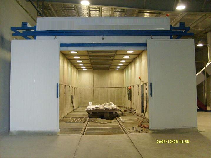 Sand Blasting Room Sand Blasting Booth Sandblasting