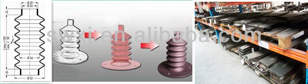 На литой и вулканизированной шланг-epdm NBR резиновые сильфоны