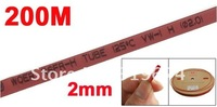 Кабельная муфта Red 200M 2.0mm Diameter Polyolefin Heat Shrink Shrinkable Tube