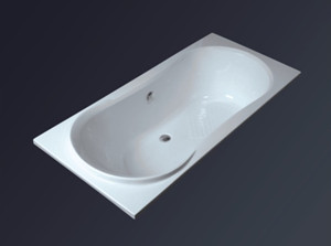 Simple and low price acrylic bathtub square YH2003-HEF-3314