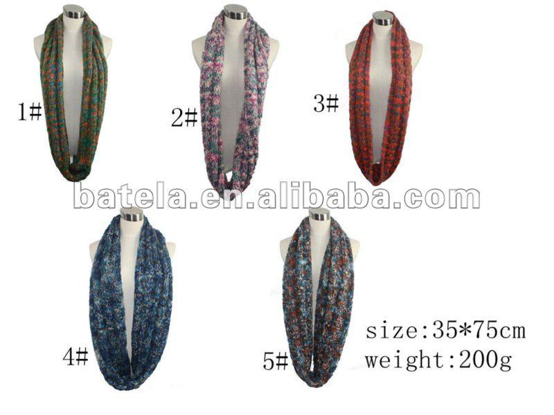 2013 círculo de la manera colorida bufanda JD220